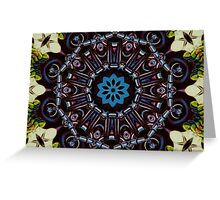 Exotic Design Greeting Card