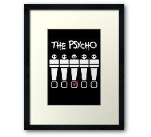 Psycho Tshirt Framed Print