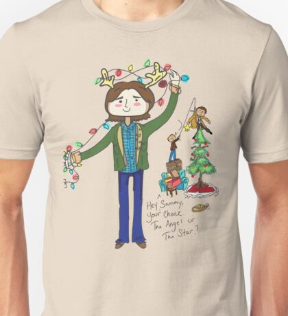 A very supernatural christmas! Unisex T-Shirt