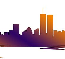 New York City Skyline  by jackelstub