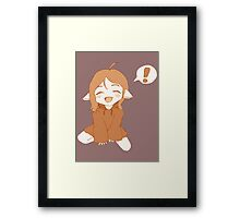 Kawaii Girl Framed Print
