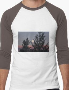 Full Moon in Summer Men's Baseball ¾ T-Shirt