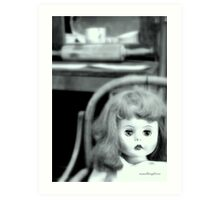 Your Just A Doll #3 Art Print