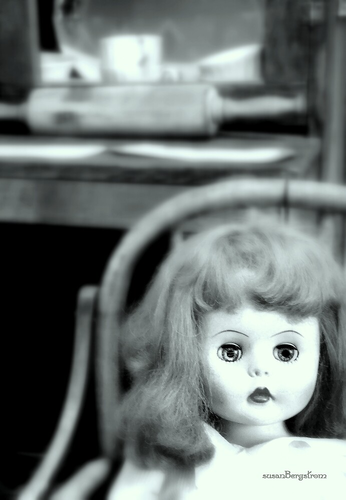 Your Just A Doll #3 by Susan Bergstrom