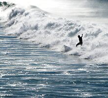 Surfer Silhouette by TheSpaniard