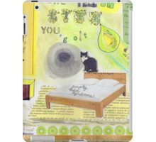 The yell-ow life you got  iPad Case/Skin