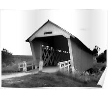 Covered Bridge - The Bridges Of Madison County Poster