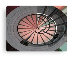 Stair Rails Canvas Print