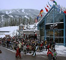 Opening day at Whistler Blackcomb by chwells