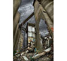 Bomb Site Photographic Print