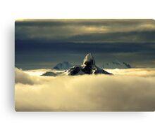 Stormy Tusk Canvas Print