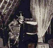 Hatbox Ghost 1969 artist rendering by rachelgracey