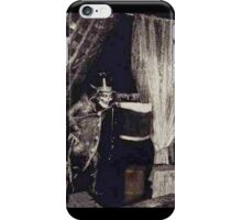 Hatbox Ghost 1969 artist rendering iPhone Case/Skin