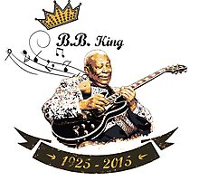 B.B. King - Rest In Peace Photographic Print