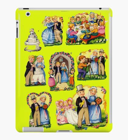 Weddings iPad Case/Skin