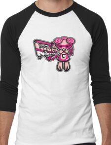Cute Mascot Tag Men's Baseball ¾ T-Shirt