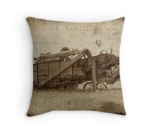 The Days of Manual Labor  Throw Pillow