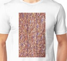 Wood Planks Pointillism by Kristie Hubler Unisex T-Shirt