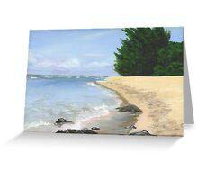 North Shore Hawaii Greeting Card