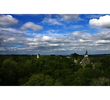 On Top of Tikal Photographic Print
