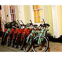 Brotherhood of Bicycles Photographic Print