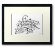 Dungeon World Framed Print
