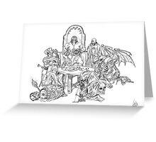 Dungeon World Greeting Card