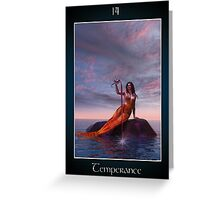 Temperance Greeting Card