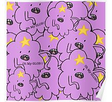 Oh My Glob Poster