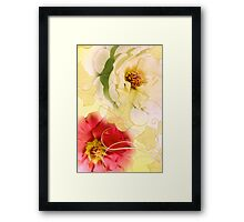 Whispering Softly Framed Print