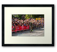 Tour de France, Harrogate, Yohann Gene Framed Print