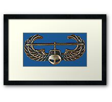 US Army Infantry - Airmobile Framed Print