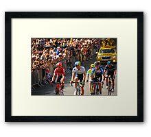 Tour de France, Harrogate Framed Print