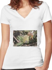 Banksia Noosa NP Women's Fitted V-Neck T-Shirt