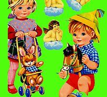 Toddlers by Angelina Elander