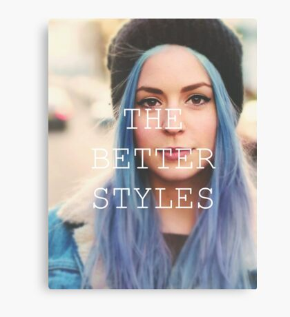 GEMMA IS THE BETTER STYLES Canvas Print