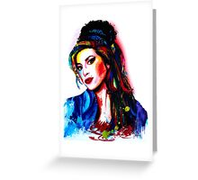 """My colors for Amy"" Greeting Card"