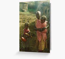 Masai Mara National Reserve Greeting Card