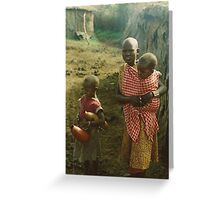 Masai Mara National Reserve Greeting Card