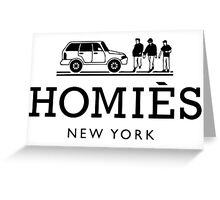 Homies, New York Greeting Card