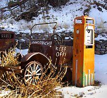 Back in the Days ~ Mogollon, NM by Vicki Pelham