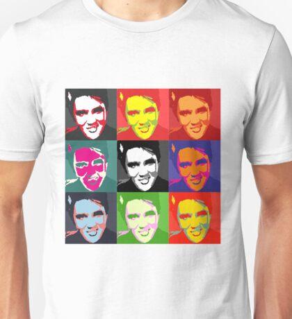 faces of Elvis Unisex T-Shirt