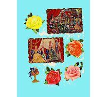 Royalties & Roses Photographic Print