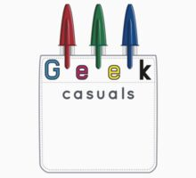 Geek Casuals Logo Tee by Geek Casuals