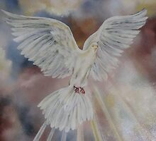7 Gifts of the  Holy Spirit, Dove by JeffeeArt4u
