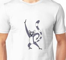 Saturday Night Lemur Unisex T-Shirt