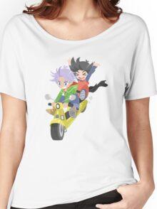Dragonball Z - Chibi Trunks and Goten Women's Relaxed Fit T-Shirt