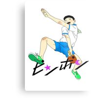 Ping Pong The Animation Print Peco Metal Print