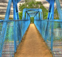 Blue Bridge by Jonathan Cox