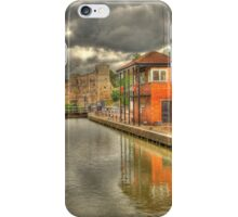Newark Castle and Lock iPhone Case/Skin